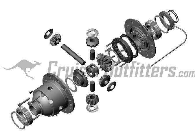 "Fits 91-07 Land Cruiser /& 90 /& Older w// ARB Toyota 9.5/"" Master Overhaul Kit"