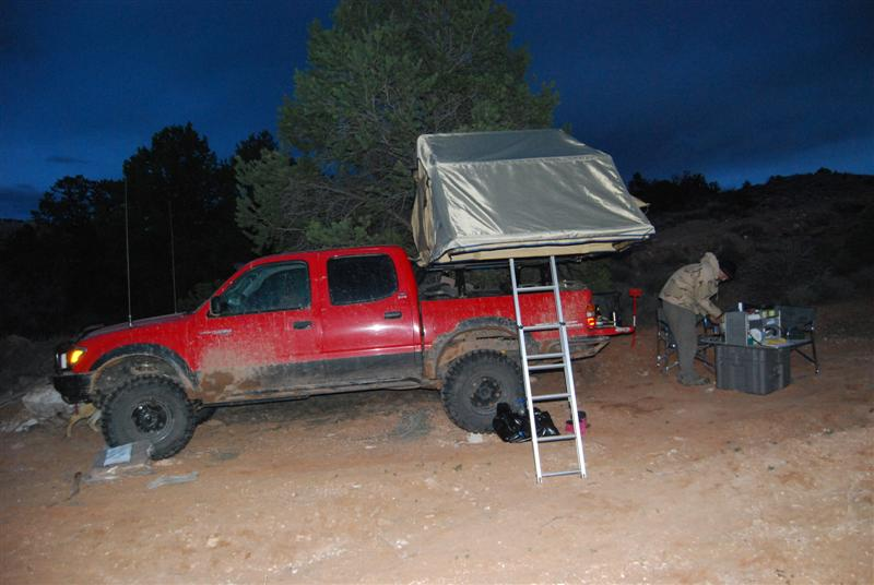 In use Kokopelli Trail spring 2009 : simpson iii rooftop tent - memphite.com